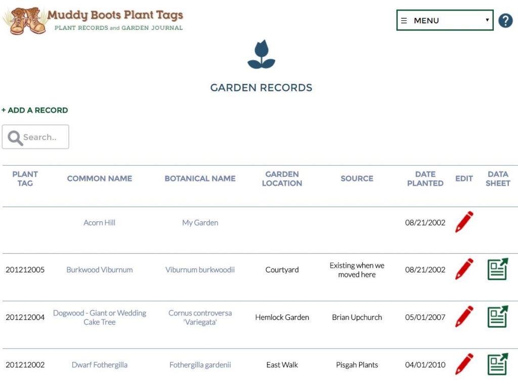 garden-records